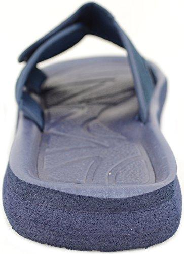 Mens Slip on Shower / Holiday / Beach / Summer Light Weight Sandals / Flip Flops Navy 1Ma8fTx