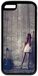 Girl Writing Music Note On The Wall Iphone 6 4.7'' Case
