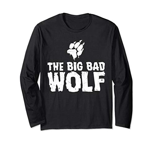 The Big Bad Wolf Paw Halloween Costume Long Sleeve T-Shirt -