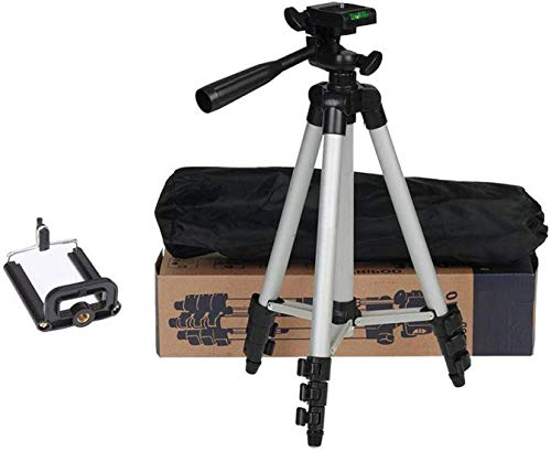 SHOPKING 3110 Mobile and Camera Tripod – Universal Portable & Foldable Professional SLR DSLR Camera Stand for Photography and Videography Tripod