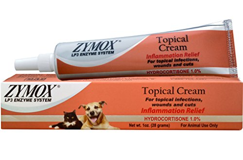 - Zymox Topical Cream with 1% Hydrocortisone 1 oz Skin Infection Treatment Pet