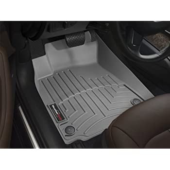 WeatherTech Custom Fit Front FloorLiner for Dodge Ram 1500 Pickup QuadCab, Grey
