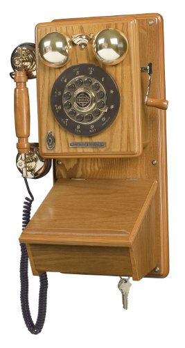 Crosley CR91 Country Kitchen Wall Phone (Oak)