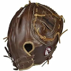 Nokona AMG400-W 14-Inch Closed Web Walnut Leather Baseball Glove (Right-Handed Throw)