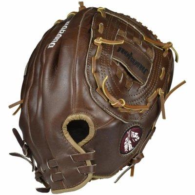 Nokona AMG400-W 14-Inch Closed Web Walnut Leather Baseball Glove (Right-Handed Throw) (Nokona Walnut)