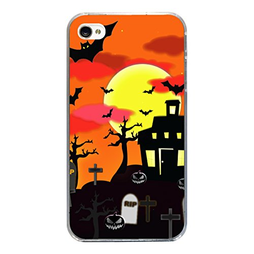 "Disagu Design Case Coque pour Apple iPhone 4 Housse etui coque pochette ""Scary House"""