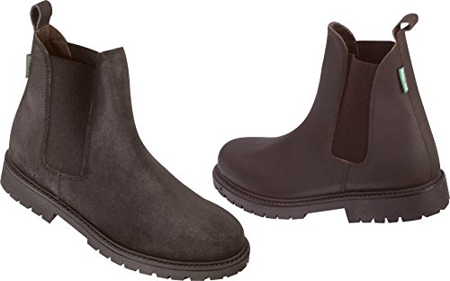 Norton Camargue - Botas, color negro marrón
