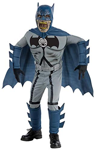 Blackest Night Deluxe Zombie Batman Costume and Mask - Small