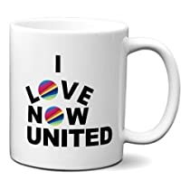 Caneca I Love Now United Eu Amo