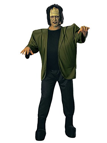 Rubie's Deluxe Adult Complete Frankenstein, Green, One Size Costume ()