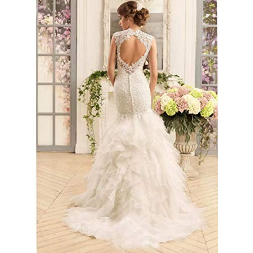 Sweetheart Wedding Dress With Cap Sleeves: Chady Vintage Cap Sleeves Mermaid Wedding Dress 2019