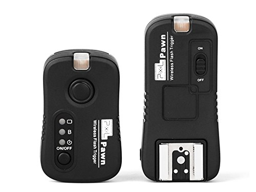 Pixel TF362 2.4GHz 100m Multifunctional Wireless Flash Trigger for Nikon Camera / Speedlite Flash Grouping (Have Wireless Shutter Remote Control Function)
