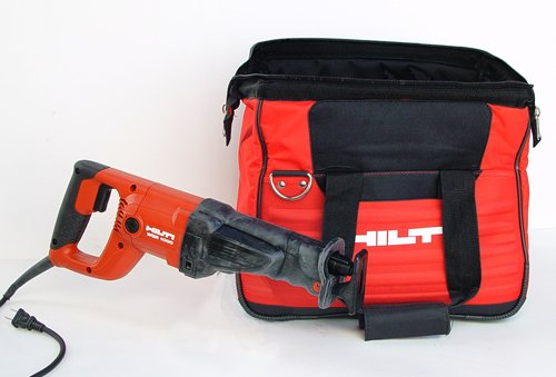 Hilti 03484940 WSR 1000 Reciprocating Saw with 1000-watt Motor and Tool Bag