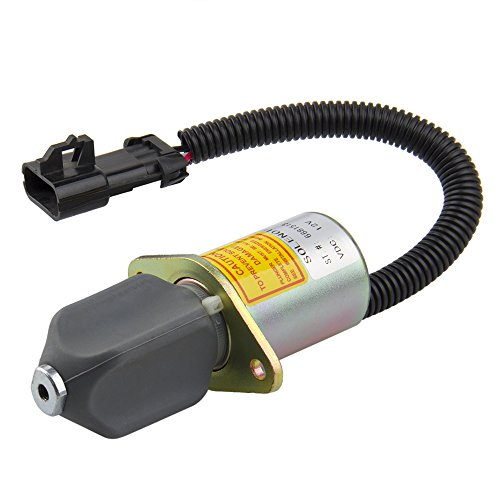 Big-Autoparts Fuel Shut Off Solenoid for Bobcat Skid Steers Switch 751 753 763 773 7753 by big-autoparts