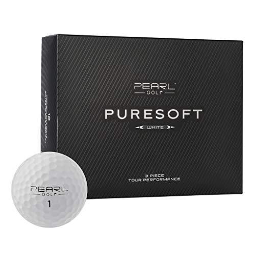 Pearl Golf Pure Soft Golf Balls (One Dozen) ()