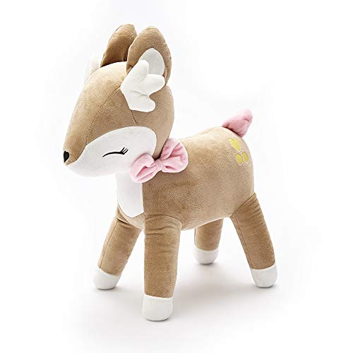 - HugeHug Baby Deer Stuffed Animal Plush Toy Doll 14 inches, Super Soft Adorable for Boys Girls Birthday