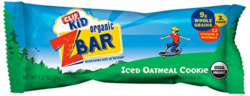 CLIF KID ZBAR - Bio Energy Bar - Oatmeal Cookie - (1,27 oz, 18 Count)