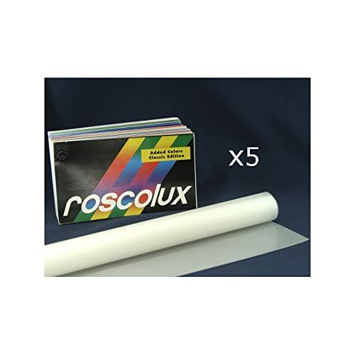 Gel Sheet Pack of 5 Rosco Roscolux 20 x 24in 69 Brilliant Blue