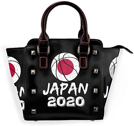 リベットバッグ バスケットボール ジャパン 2020年東京オリンピック トートバッグ スタッズ バッグ ショルダーバッグ ハンドバッグ ハリートート 斜めバッグ 手提げ レディース トゲトゲ かわいい 2WAY 人気 PUレザー 通勤 メンズ 斜めがけ 大容量 ファッション