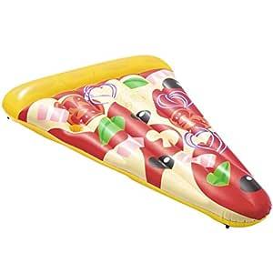 Roderick Irving Cuna Flotador Hinchable Pizza Party 188 x 130 cm ...