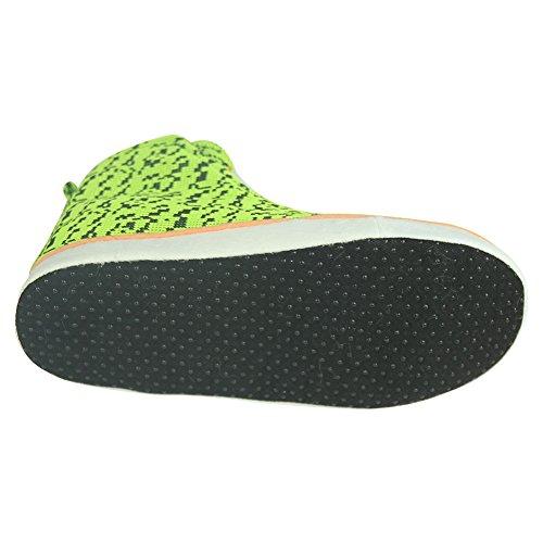 Sneakers Winter Slipper Boots Men's Warm Indoor Fluorescent House Yellow Gohom ZEO0I