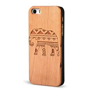 Froolu ? Native Pattern Elephant Wooden iPhone 4 and iPhone 4s Case