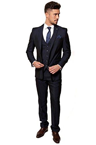 Marc Darcy - Costume - Costume - Homme bleu bleu marine Auditor's Target Value