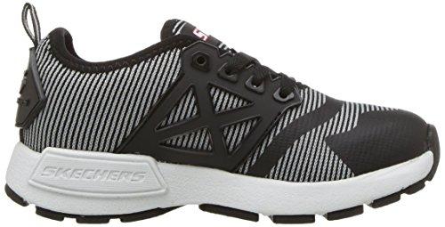 Skechers Kinectors - Nanovolt schwarz - grau - rot - weiß