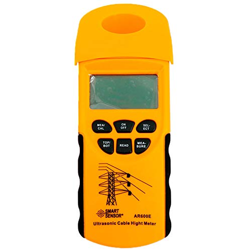 Tongbao AR600E Digital Handheld Ultrasonic Cable Height Meter Tester 3-23m Height Measuring Instruments