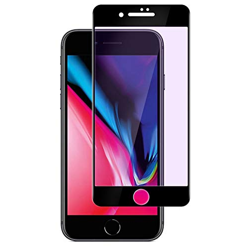 Snyank Screen Protector with Anti-Blue Designed for iPhone 7/8 Plus, Tempered Glass Screen Protector Advanced Resolution 99.9% Touch Accurate