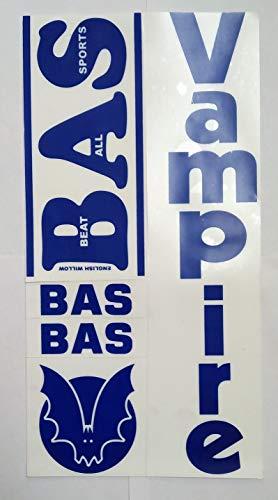 BAS Vampire (Metallic) Vintage Cricket BAT Sticker – with Advanced Quality | Self Adhesive Price & Reviews