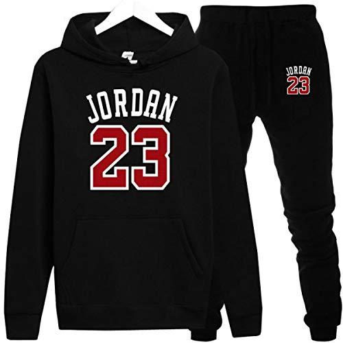 Jordan 23 Men Sportswear Men Hoodies Pullover Mens Sweatshirts Clothing Black (Jordan Women Sweaters)