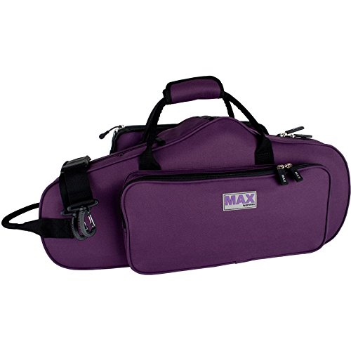 Pro Tec MX304CTPR Max Alto Saxophone Case (Purple)