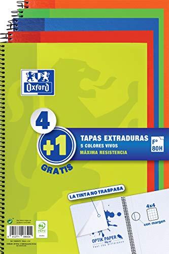 41SF2JhRnnL Haz clic aquí para comprobar si este producto es compatible con tu modelo Colores de los cuadernos: Lima, Rojo, Naranja, Verde, Azul Marino Papel Optik Paper 90 gr