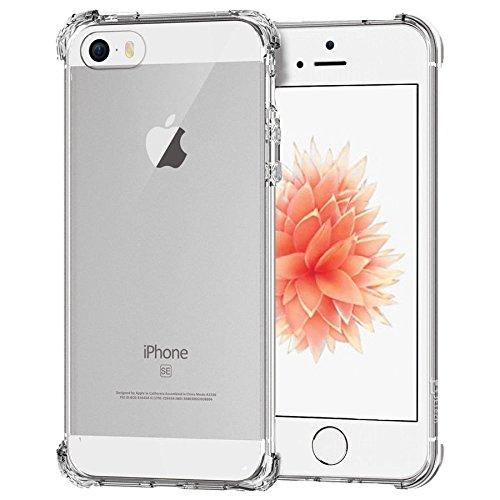 aa1c1db0229 Funda para iPhone 5 / 5S Aosmart Caso Protector Transparente para iPhone 5  / 5S Fundas