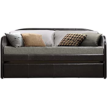 Amazon.com: homelegance Meyer 4956pu Daybed W/Nido, color ...