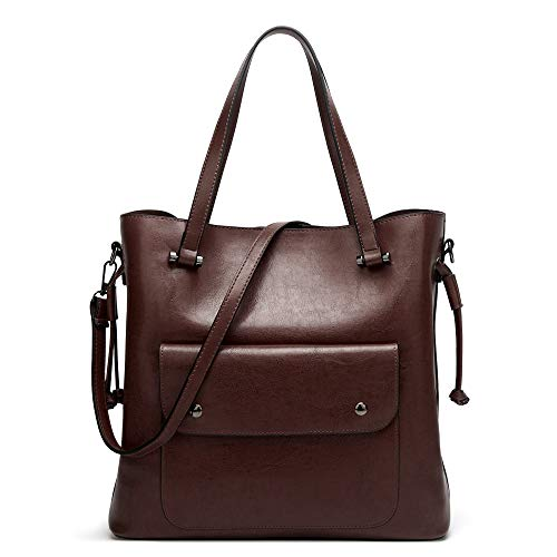 - Cawmixy Hobo Women Satchel Soft Shoulder Bags Classic Tote Ladies Purses Designer Woman Bags (A Wine)