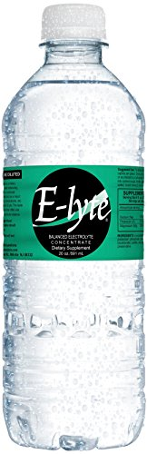 Sodium Bicarbonate Potassium (BodyBio - E-lyte Balanced Electrolyte Concentrate, Elyte with Sodium, Magnesium & Potassium, 20oz, 40)
