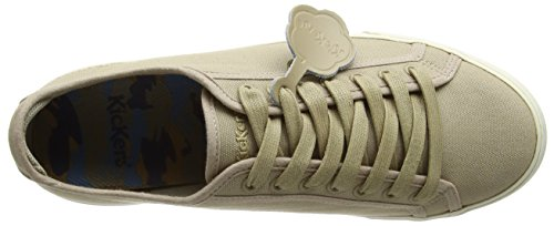 Basses Light Lacer Tan Homme Tovni Kickers Brown 64HqRzU