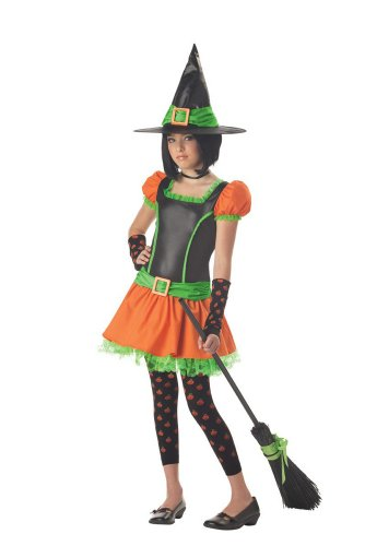 [Tween Sassy Pumpkin Witch Costume (Large)] (Sassy Pumpkin Witch Costumes)