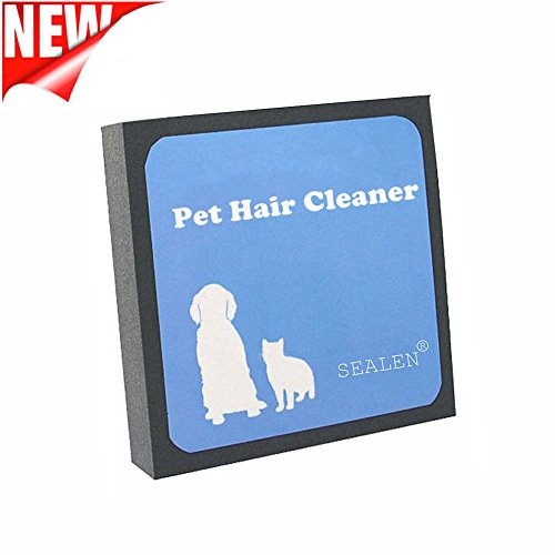 SEALEN Pet Hair Cleaner - Reusable Hair and Lint Remover for Pet Dogs Cats - Pet Brush Hair Erasing for Bedding Carpets Car Seats Clothing