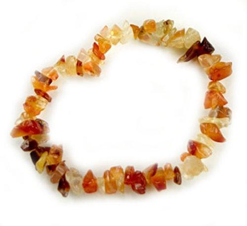 crystal chip bracelet - 9