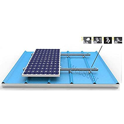 Panel Soporte De Solares Placas Solar Estructura Para Aluminios 8nm0wyPvNO