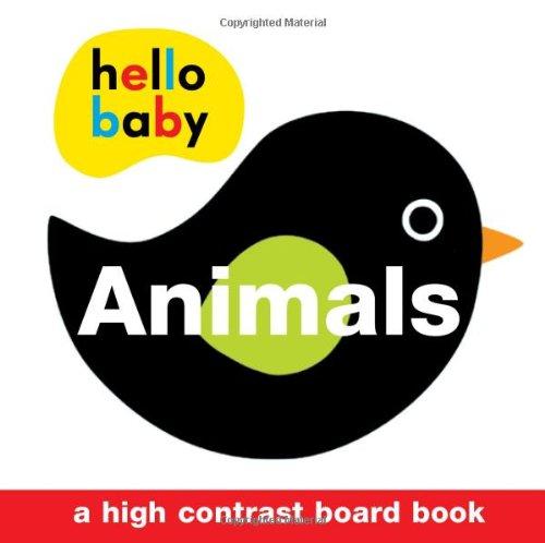 Hello Baby Animals High Contrast Board