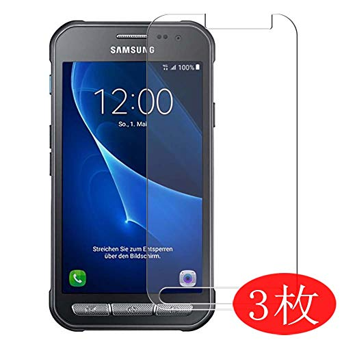 【3 Pack】 Synvy Screen Protector for Samsung Galaxy Xcover 3 G389F TPU Flexible HD Clear Case-Friendly Film Protective Protectors [Not Tempered Glass]