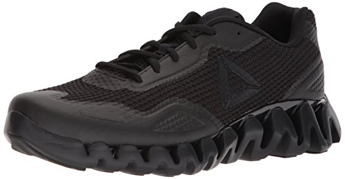 Zig Men's Pulse Black Shoe black Running Reebok 0qA6gx16