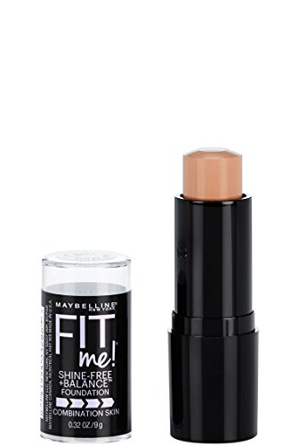 Maybelline Fit Me Shine-Free + Balance Stick Foundation, Buff Beige, 0.32 oz.