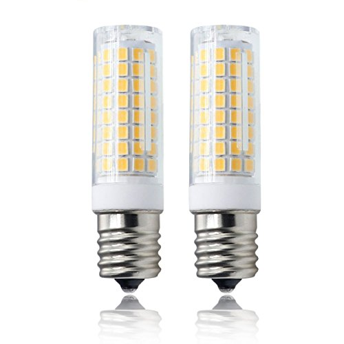 E17 bulb, All-New 102×2835SMD Dimmable E17 LED, 7.5W Warm White 120v 75w Equivalent, Microwave Appliance Compatible Bulb (Pack of (Whirlpool Microwave Oven Accessories)