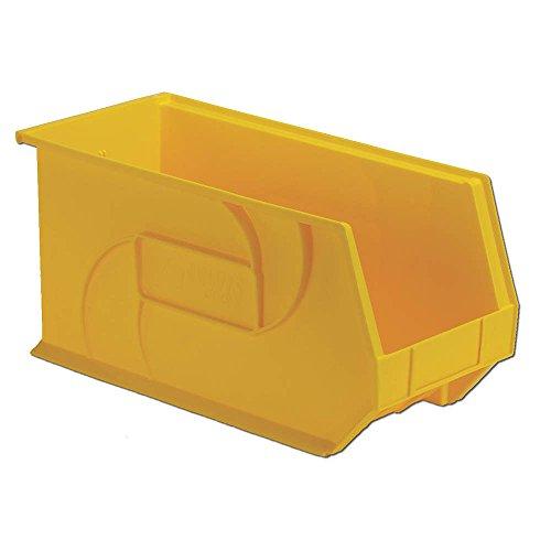 Hang and Stack Bin, Yellow, 18