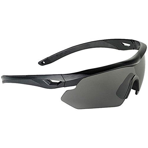 Caucho Eye Nighthawk Lentes Negro 3 Gafas Swiss Marco Intercambiables xgF7wUqZR